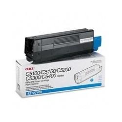 Toner Cyan para C5000, Rend. 5000 PAG. NP. 42127403
