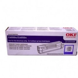 Toner Cyan para C6000, Rend. 5000 PAG. NP. 43324419