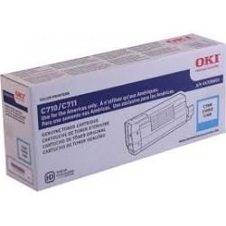 Toner Cyan para C710, Rend. 11500 PAG. NP. 43866103