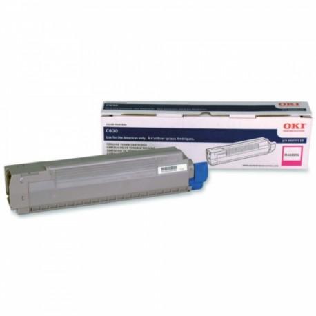 Toner Magenta para C830, Rend. 8000 PAG. NP. 44059110