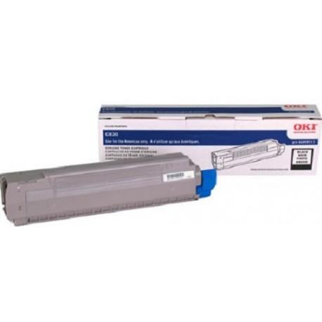 Toner Negro para C830, Rend. 8000 PAG. NP. 44059112