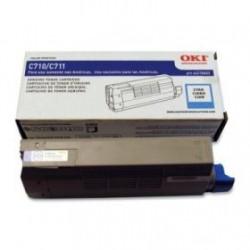Toner Cyan para C711, Rend. 11500 PAG. NP. 44318603