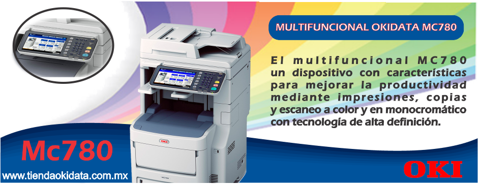 MULTIFUNCIONAL OKIDATA MC780