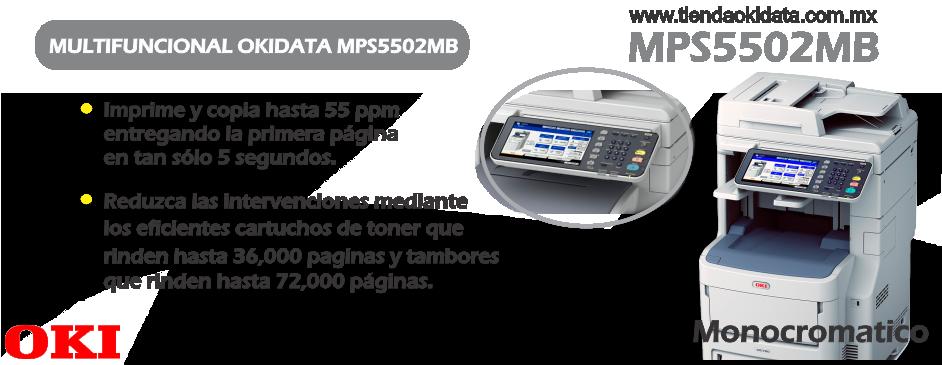 multifuncional okidata mps5502mb